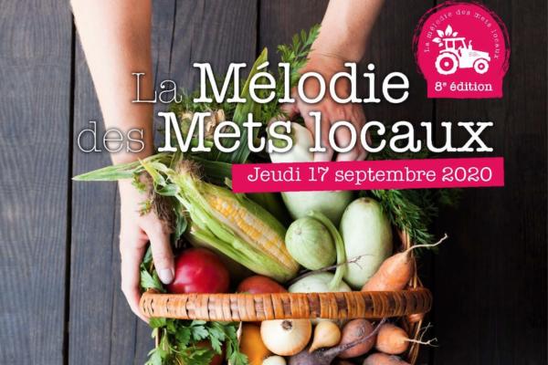 17/09/2020 : 8ème Edition de la «Mélodie des mets locaux»